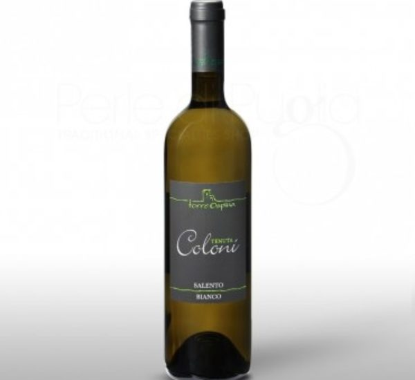 Tenuta Coloni<br>(Verdeca-Fiano Bianco) <br>€ 10<br>Great combination with fish cooking; fresh cheeses and delicate main courses with spicy ingredients