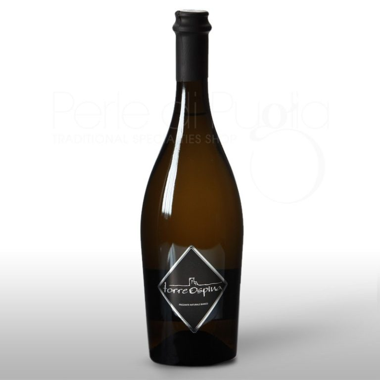 Tenuta Torre Ospina<br>(Bianco Frizzante) <br>€ 13<br>It matches with fish, raw seafood and all kind of appetizer