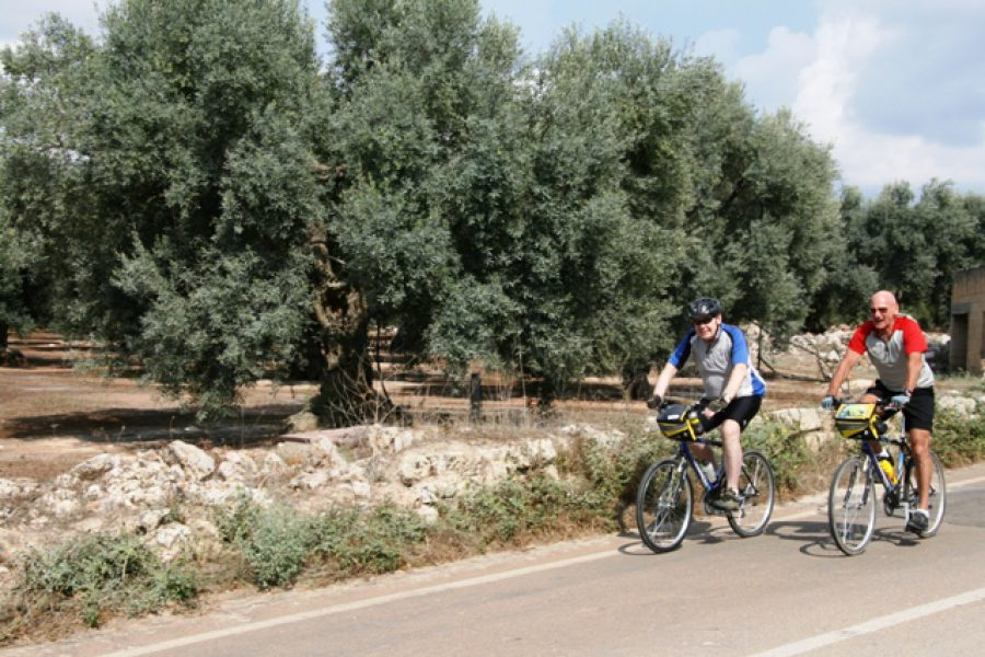 biciclettata in Salento Gallipoli
