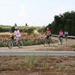 gita di gruppo in salento in bici