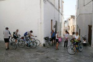 in bicicletta a Matino