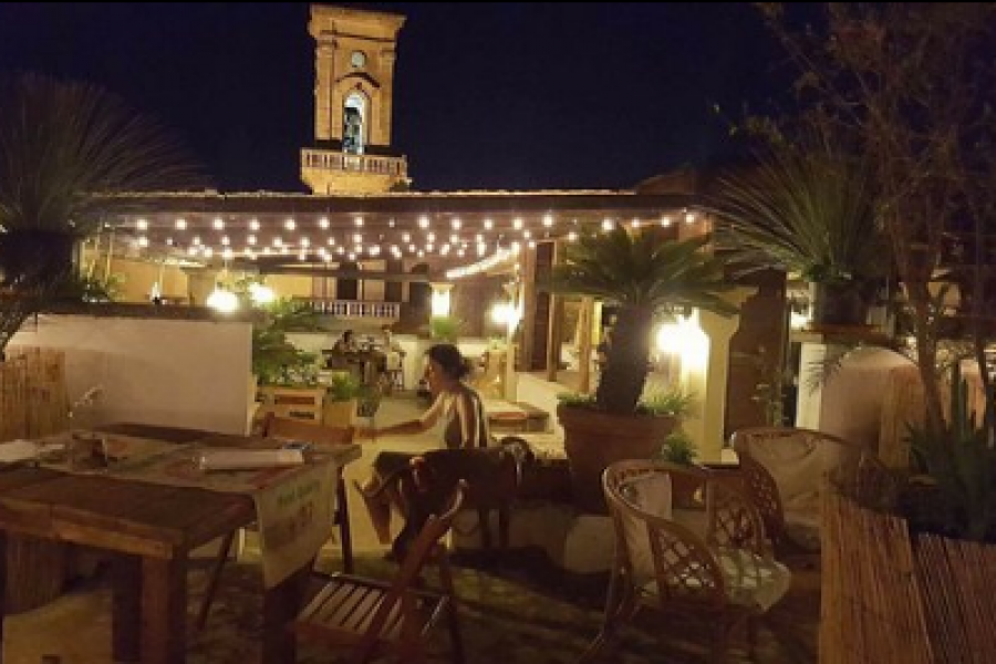 Salento Jazz night on terrace in Locanda in Matino