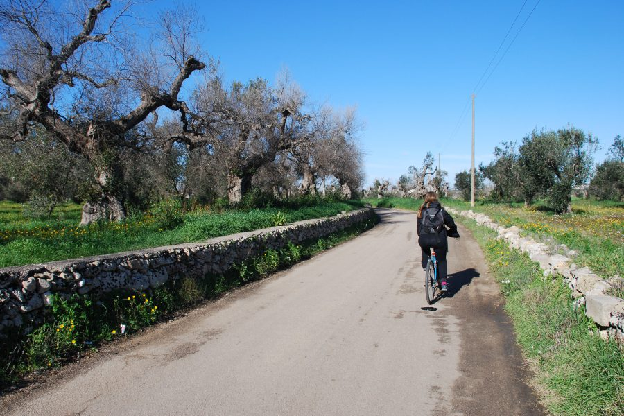 Easter Weekend 2018 on bike in south Puglia