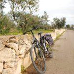 percorso in bici nel basso salento