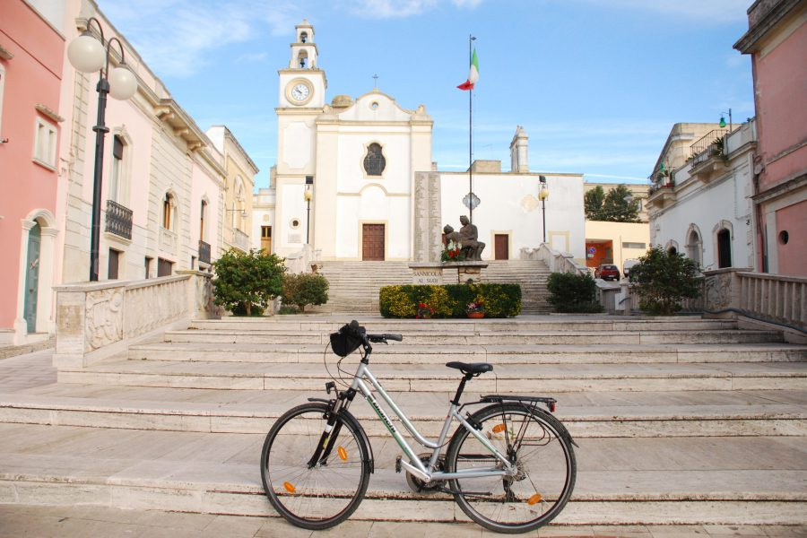 3 days cycling in Salento: bike routes and workshops