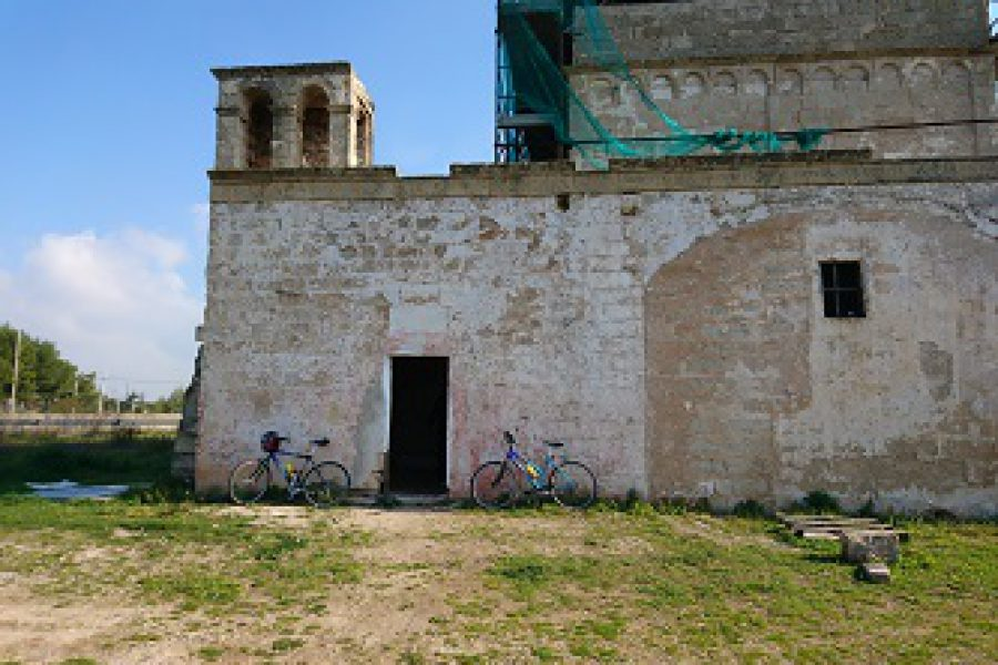 Excursion on bike from Matino to Gallipoli