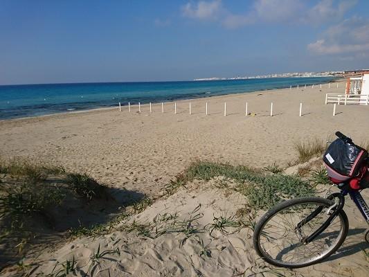 Escursioni in bicicletta a Gallipoli di una giornata intera