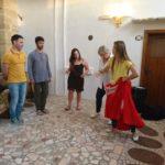 lezioni di pizzica in Salento