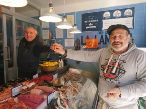 eat fresh fish in Galipoli