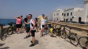 itinerari in bici costa ionica salento