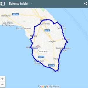 Itinerario Salento bicicletta