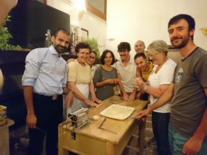 workshop of homemade pasta in Salento