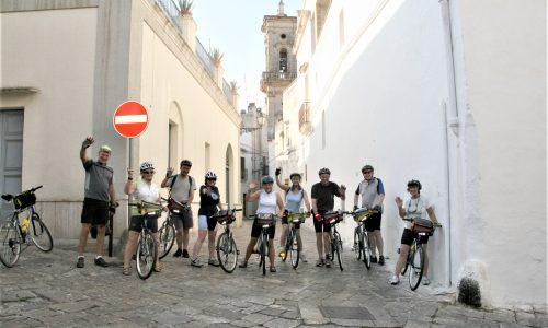 viaggi di gruppo in bicicletta salento