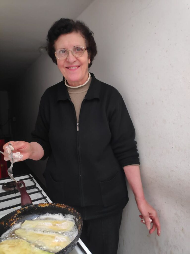 Salento recipe The aubergine of Santu Ronzu